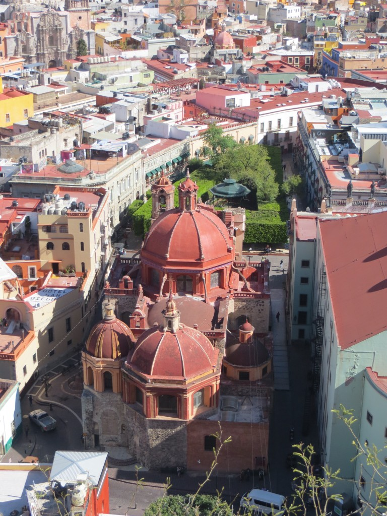 Basilica of Our Lady of Guanajuato - top view. (Photo: B. Kopp)