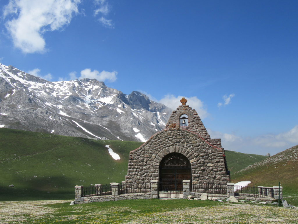 Church in Picos de Europa